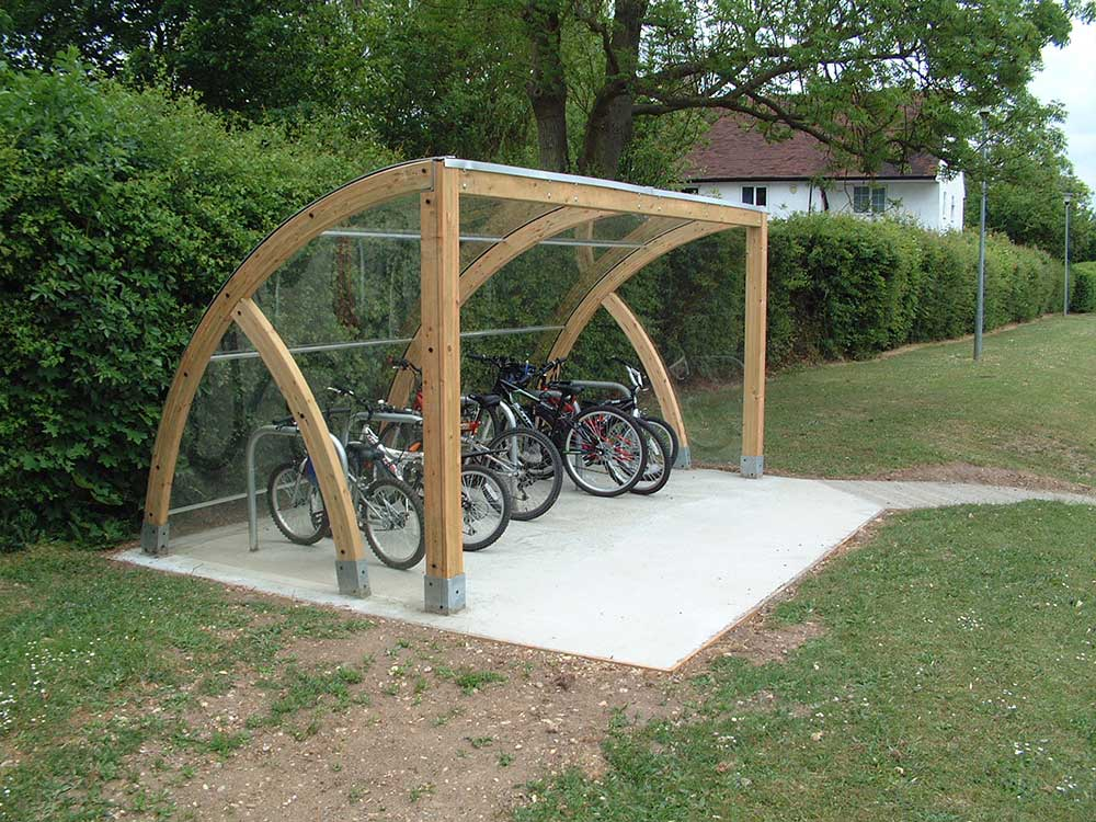 High End Car Shelters : Cycle shelters manufacturers uk bike shelter for schools