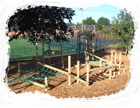 Outdoor Wooden Play Equipment