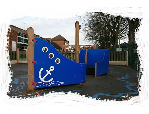 Galleon Boat Playground Equipment