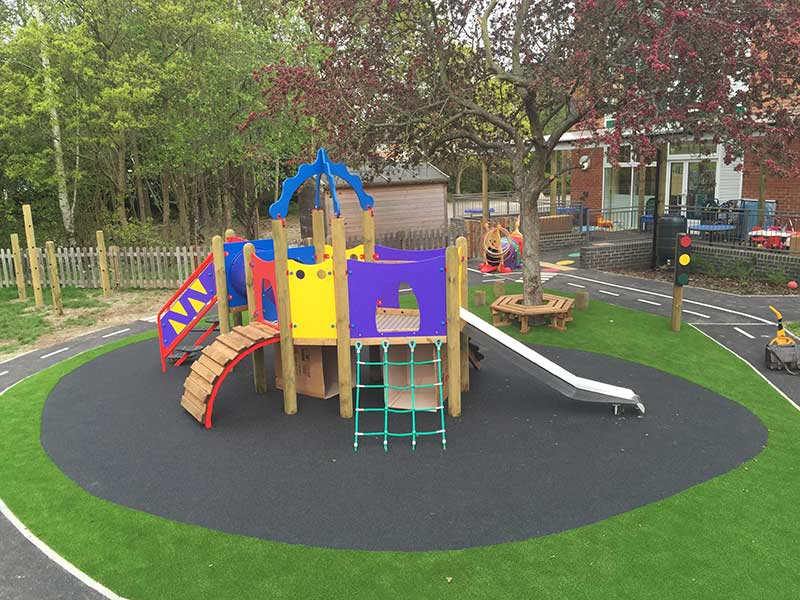 school play area
