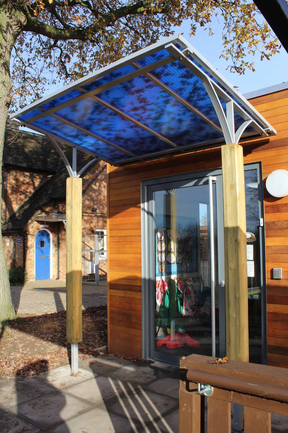 Entrance Canopies Product : Entrance canopies bespoke canopy manufacturers uk