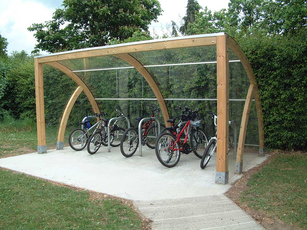 bike shelters utility buildings cycle shelters for. Black Bedroom Furniture Sets. Home Design Ideas
