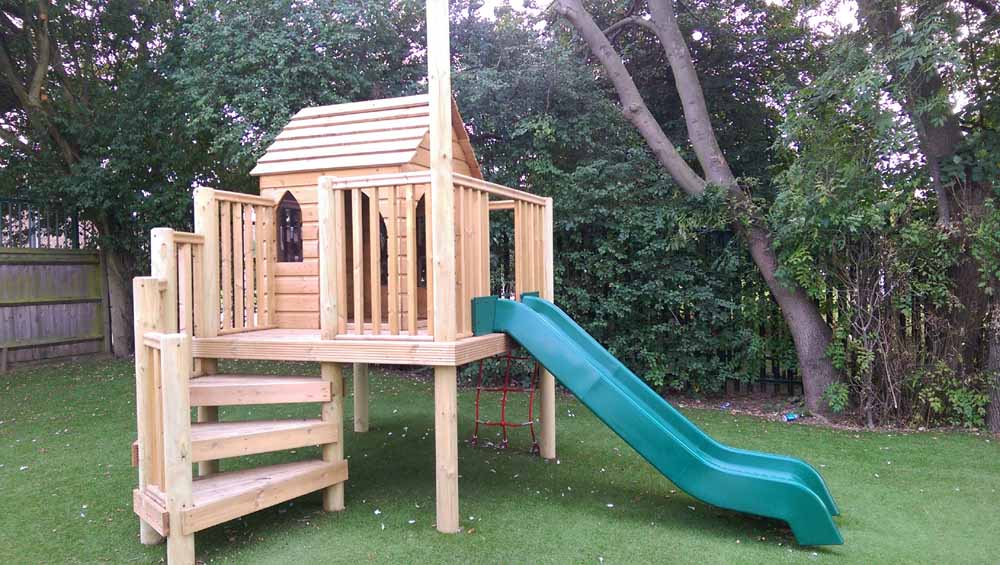 Kids Wooden Treehouses And Forts Online At Setter Play Uk