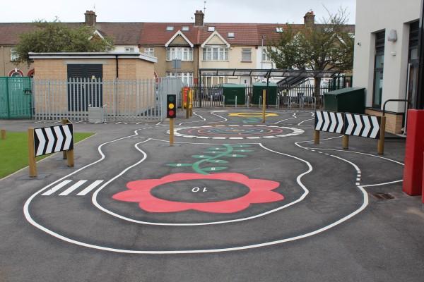 school play roadway