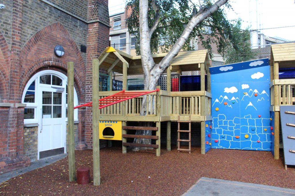 bespoke school climbing frame