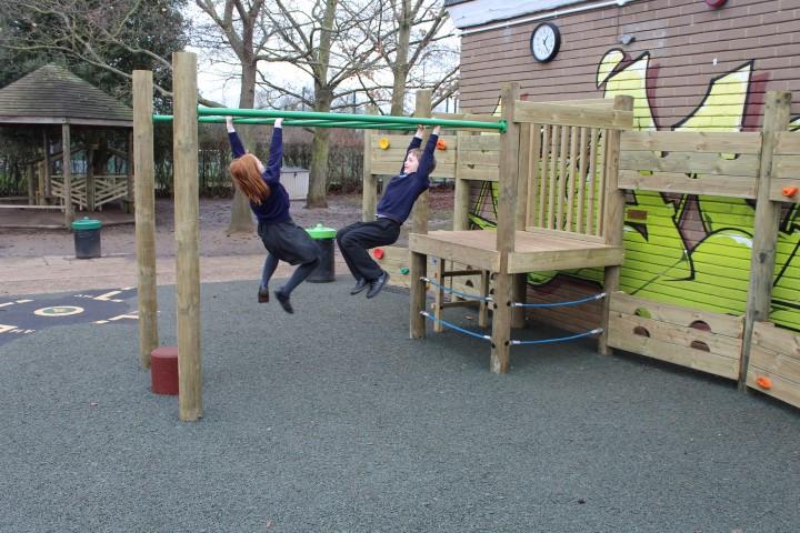 primary school climbing frame