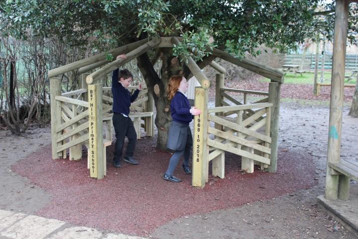 school timber den