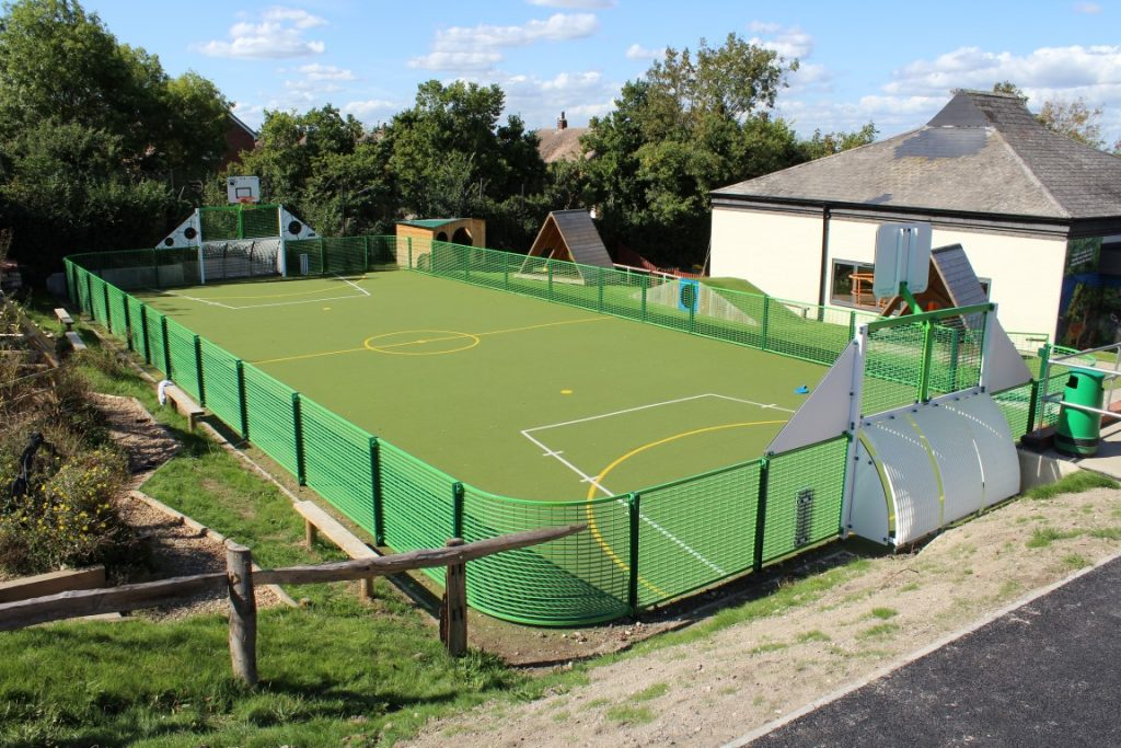 Sports and Fitness Pitch from Setter Play UK