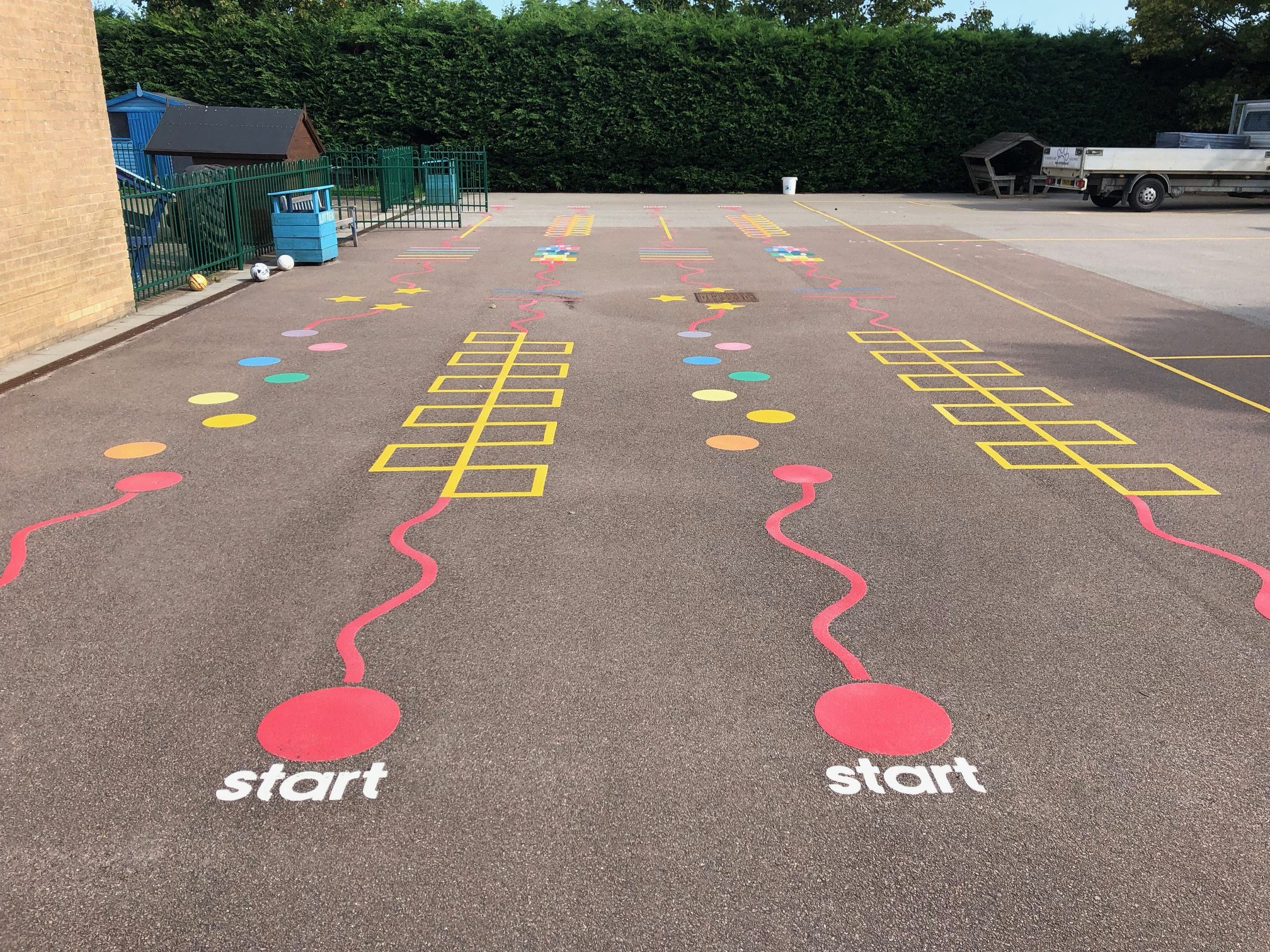 Sports Line Markings - Setter Play
